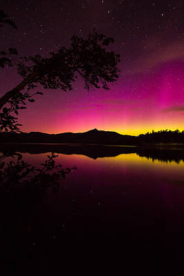 Wall Art - Photograph - Chocorua Aurora by William Sanger