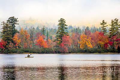 Photograph - Chocorua Lake Paddle by Susan Cole Kelly