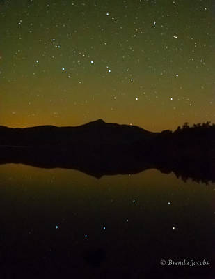 Photograph - Chocorua Stars by Brenda Jacobs