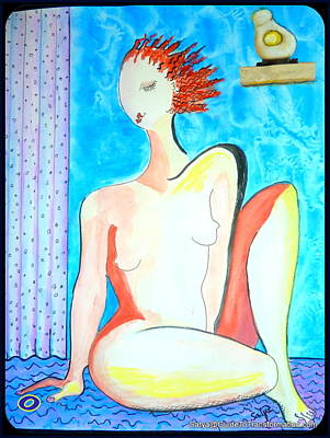 Painting - Choice - It's My Body by Satya Winkelman