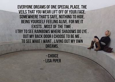 Photograph - Choice by Lisa Piper