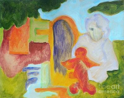 Choices- Caprian Beauty Series 1 Art Print by Elizabeth Fontaine-Barr