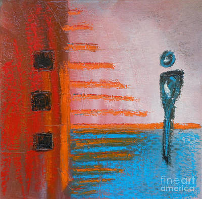 Separation Painting - Choices IIi by Kitty Mecham