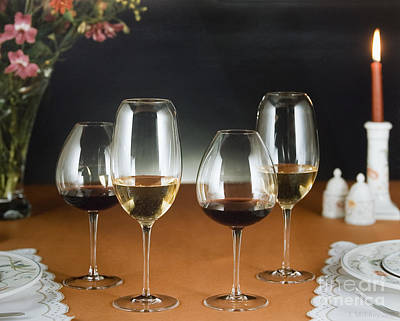 Table Wine Photograph - Choices  by Jerry McElroy