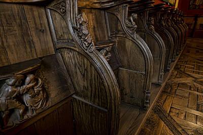 Edward Hopper - Choir chairs by Evie Carrier