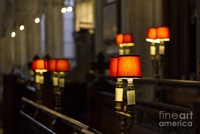Photograph - Choir Stalls by Clare Bambers
