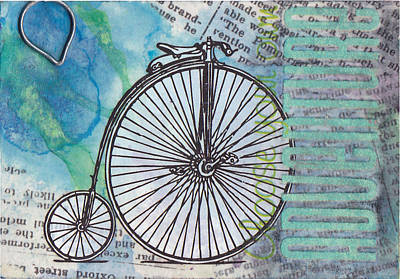 Choosing Mixed Media - Choose Your Own Adventure by Patricia Wiggin - Wiggelhevin
