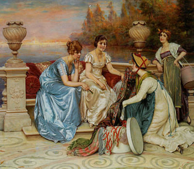 Frederick Digital Art - Choosing The Finest by Frederick Soulacroix