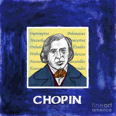 Chopin Art Print by Paul Helm