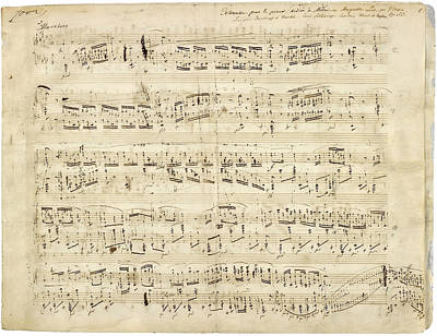 Chopin Polonaise Op 53 Art Print