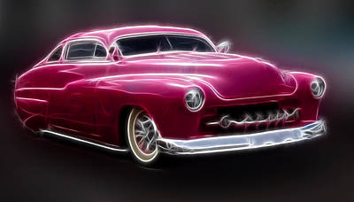 Chopped 50 Merc Print by Steve McKinzie