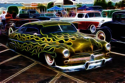 Chopped And Flamed Art Print by Steve McKinzie