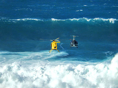 Haleiwa Photograph - Choppers At Jaws by Stacy Vosberg