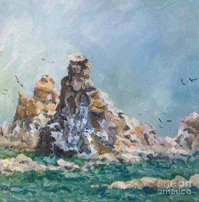 Painting - Choppy Water by Pat Crowther