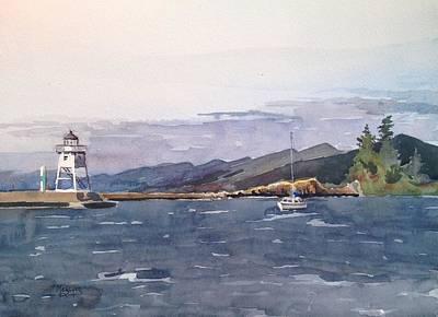 Choppy Waters Grand Marais Original by Spencer Meagher
