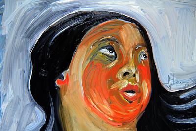 Painting - Choral Singer by Jim Vance