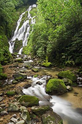 Sutton Photograph - Chorro El Macho Falls, Anton El Valle by William Sutton