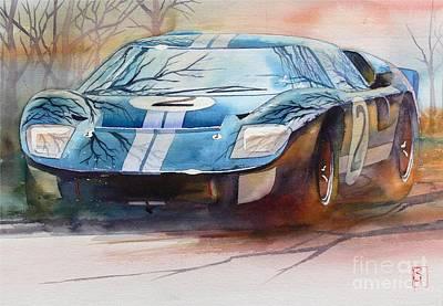 Automobilia Painting - Chris Amon by Robert Hooper