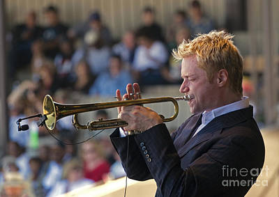 Chris Botti Art Print