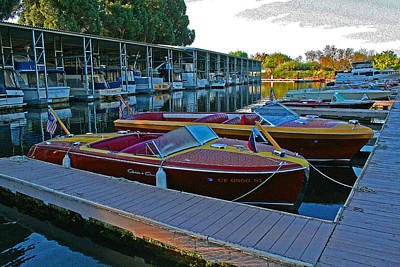 Photograph - Chris Craft Sunrise by Joseph Coulombe
