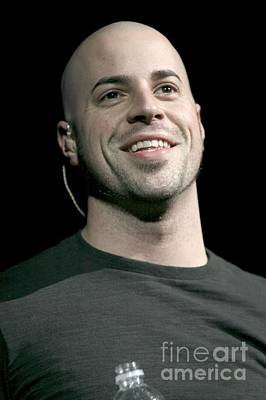 Daughtry Photograph - Chris Daughtry by Concert Photos
