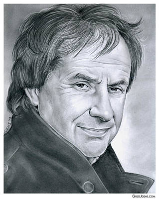 Singer Drawing - Chris De Burgh by Greg Joens