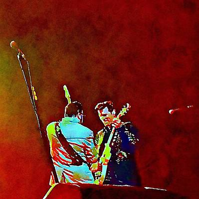 Massey Hall Wall Art - Painting - Chris Isaak 9 by Nicola Andrews