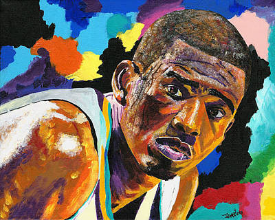 Los Angeles Clippers Painting - Chris Paul by Jeff Gomez