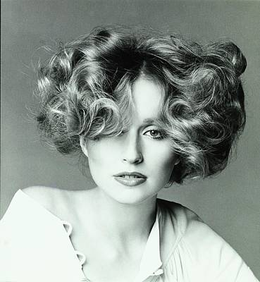 Hair Stylist Photograph - Chris Royer Wearing A Hair Style By Dina Azzolini by Francesco Scavullo