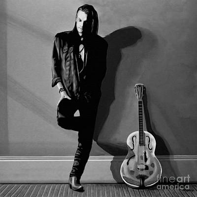 Chris Whitley Art Print by Meijering Manupix