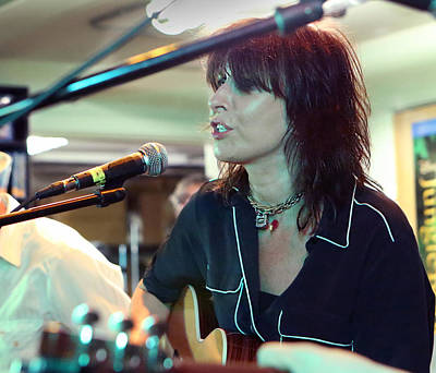 Photograph - Chrissie Hynde Acoustic By Denise Dube by Denise Dube