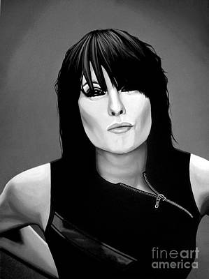 Wave Mixed Media - Chrissie Hynde by Meijering Manupix