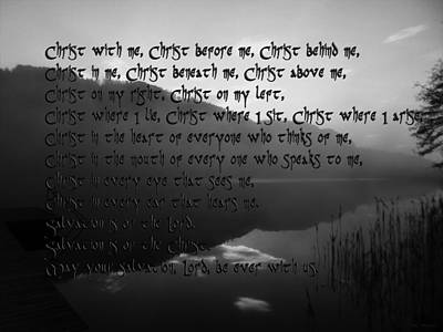 Meanings. Humans Digital Art - Christ Be With Me  by Sir Josef - Social Critic - ART