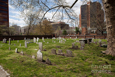 Christ Church Burial Ground Art Print by Kay Pickens