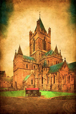 Photograph - Christ Church Cathedral In Dublin by Mark E Tisdale
