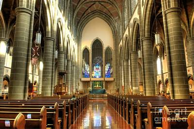 Photograph - Christ Church Cathedral Victoria British Columbia by Bob Christopher