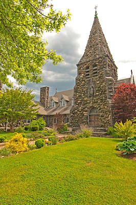 Photograph - Christ Church Episcopal - Waltham by Paul Mangold
