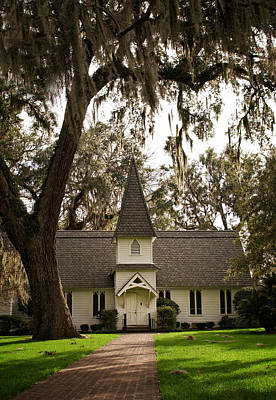 Photograph - Christ Church On St. Simons Island Georgia by Greg and Chrystal Mimbs