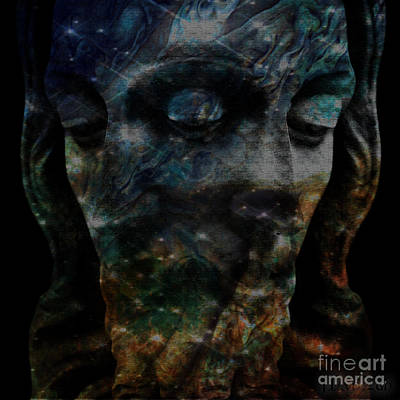 Starseed Digital Art - Christ Consciousness by Mynzah Osiris