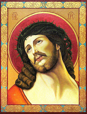 Christ Crowned With Thorns Original by Oksana Nabok