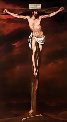 Christian Artwork Painting - Christ Crucified  by Mountain Dreams