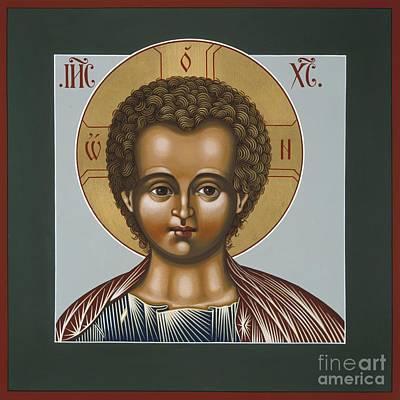 Painting - Christ Emanuel Lamb Of God 079 by William Hart McNichols