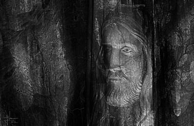 Photograph - Christ Figure  by Jim Vance