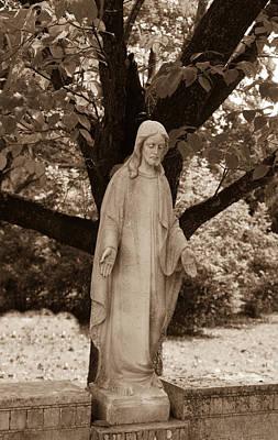 Christ In The Garden Art Print