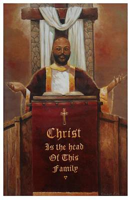 Painting - Christ Is The Head by Kanayo Ede