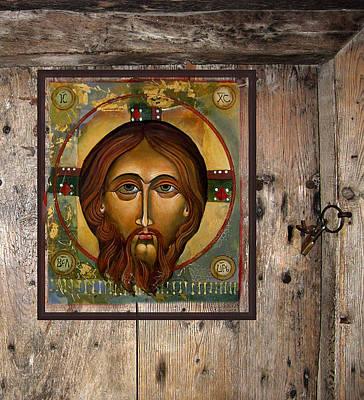 Christ Art Print by Mary jane Miller