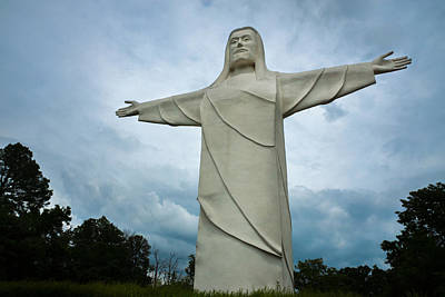 Eureka Springs Photograph - Christ Of The Ozarks by Bill Pevlor