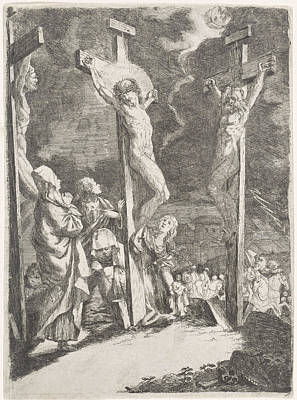 Christ On The Cross, Anonymous Art Print by Anonymous
