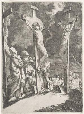 Christ On The Cross, Anonymous Art Print
