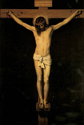 Christ On The Cross Art Print by Diego Velazquez